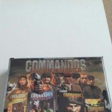 Videojuegos y Consolas: COMMANDOS EDICION HISTORICA. PC. COMPLETO. Lote 154138216
