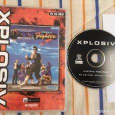 Videojuegos y Consolas: VIRTUA FIGHTER SEGA PC CD ROM KREATEN XPLOSIV. Lote 154303086