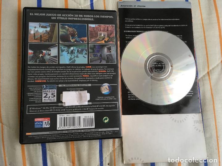 HALF LIFE HALFLIFE VALVE SIERRA PC CD ROM FX kreaten