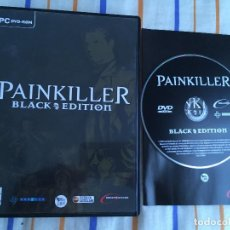 Videojuegos y Consolas: PAINKILLER BLACK EDITION PC DVD ROM CASTELLANO DREAMCATCHER KREATEN. Lote 154316710