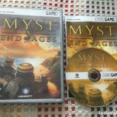 Videojuegos y Consolas - JUEGO PC MAC DVD ROM MYST V END OF AGES 5 kreaten - 104553039