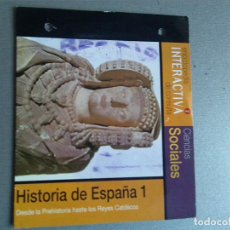 Videojuegos y Consolas: ENCICLOPEDIA INTERACTIVA DE CONSULTA. EL PERIÓDICO 2 HISTORIA DE ESPAÑA 1. Lote 154330362