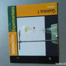 Videojuegos y Consolas: ENCICLOPEDIA INTERACTIVA DE CONSULTA. EL PERIÓDICO 2 QUIMICA 1. Lote 154333450