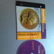 Videojuegos y Consolas: ENCICLOPEDIA INTERACTIVA DE CONSULTA. EL PERIÓDICO 2 HISTORIA DE ESPAÑA 3. Lote 154334906