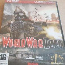 Videojuegos y Consolas: WORLD WAR ZERO / PC DVD-ROM / LUDIS GAMES / CASTELLANO / PRECINTADO !. Lote 189550861