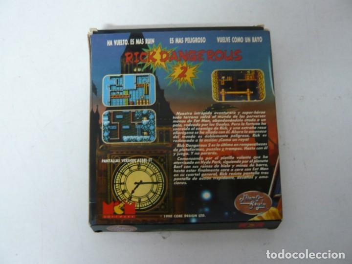 Videojuegos y Consolas: Rick Dangerous 2 / Juego IBM PC y Compatibles / Retro Vintage / Clásico / Diskette - Foto 2 - 154460530