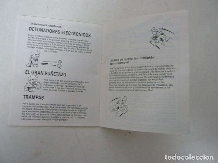 Videojuegos y Consolas: Rick Dangerous 2 / Juego IBM PC y Compatibles / Retro Vintage / Clásico / Diskette - Foto 4 - 154460530