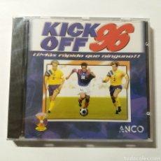 Videojuegos y Consolas: KICK OF 96 ¡MÁS RÁPIDO QUE NINGUNO! DE ANCO - NUEVO A ESTRENAR. Lote 155156098