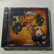 Videojuegos y Consolas: EARTH WORM JIM 1 FUNSOFT, SHINY ENTERTAINMENT, PLAYMATES INTERACTIVE ENTERTAINMENT- NUEVO A ESTRENAR. Lote 155156658