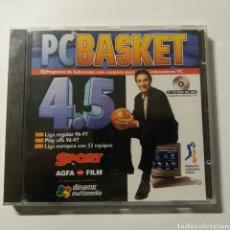 Videojuegos y Consolas: PC BASKET 4.5 DINAMIC MULTIMEDIA - NUEVO A ESTRENAR. Lote 219077597