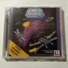 Videojuegos y Consolas: STAR WARS W WING ERBE, LUCAS ARTS, CD-ROM PARA COLECCIONISTAS - NUEVO A ESTRENAR. Lote 155158014