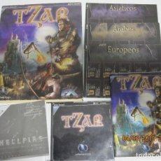Videojuegos y Consolas: JUEGO PC TZAR EL PODER DE LA CORONA PC CAJA DE CARTÓN EDICION EN CAJA DE CARTÓN. Lote 155224686