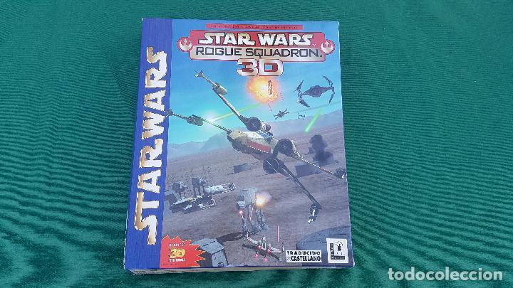 CAJA STAR WARS ROGUE SQUADRON 3D | LUCAS ARTS | FACTOR | ELECTRONIC ARTS | VIDEO JUEGO PC | (Juguetes - Videojuegos y Consolas - PC)