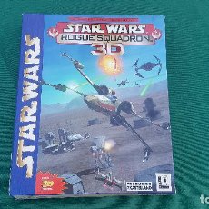 Videojuegos y Consolas: CAJA STAR WARS ROGUE SQUADRON 3D | LUCAS ARTS | FACTOR | ELECTRONIC ARTS | VIDEO JUEGO PC |. Lote 155563542