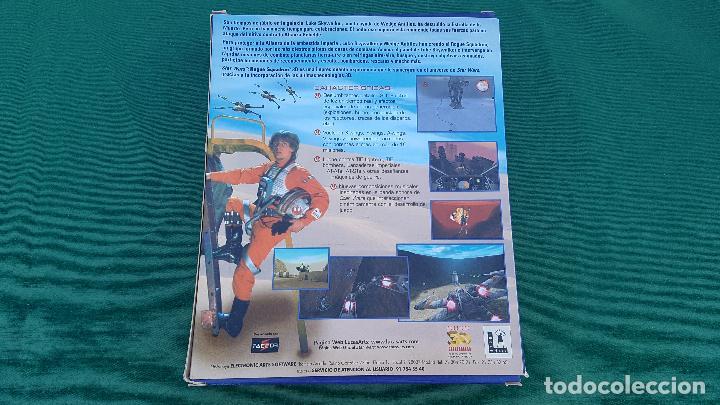 Videojuegos y Consolas: CAJA STAR WARS ROGUE SQUADRON 3D | LUCAS ARTS | FACTOR | ELECTRONIC ARTS | VIDEO JUEGO PC | - Foto 2 - 155563542