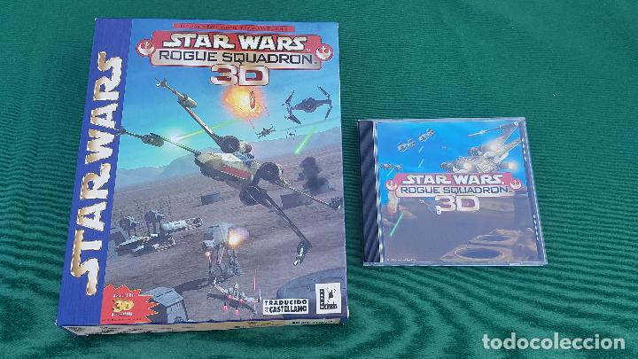 Videojuegos y Consolas: CAJA STAR WARS ROGUE SQUADRON 3D | LUCAS ARTS | FACTOR | ELECTRONIC ARTS | VIDEO JUEGO PC | - Foto 3 - 155563542