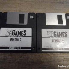 Videojuegos y Consolas: PC 3 1/2 HEIMDALL 2 PAL ESP 1994. Lote 155895334
