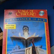 Videojuegos y Consolas: PRISONER OF ICE - CALL OF CTHULHU - BIG BOX - ESPAÑOL - ERBE. Lote 155933174