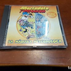 Videojuegos y Consolas: MORTADELO Y FILEMON - LA MAQUINA METEOROLOCA - JUEGO PC 1999 -. Lote 155977998