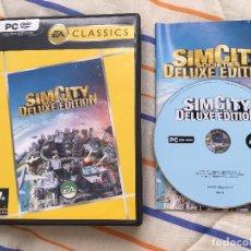 Videojuegos y Consolas: SIM CITY SOCIETIES DELUXE EDITION EA CLASSICS PC DVD CASTELLANO KREATEN. Lote 155994822