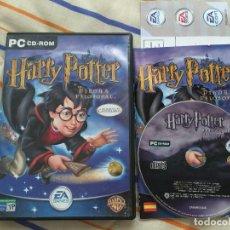 Videojuegos y Consolas: HARRY POTTER Y LA PIEDRA FILOSOFAL PC CD ROM JUEGO VIDEOJUEGO KREATEN. Lote 155996022