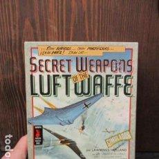 Videojuegos y Consolas: SECRET WEAPONS OF THE LUFTWAFFE. LUCASFILM GAMES. VERSIÓN EN ESPAÑOLA. Lote 155997246