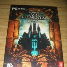 Videojuegos y Consolas: JUEGO PARA PC EL TEMPLO DEL MAL ELEMENTAL (2 CD-ROM) DUNGEONS & DRAGONS - ATARI - FALCONGRÍS. Lote 156011398