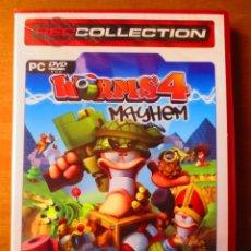 Videojuegos y Consolas: WORMS 4 MAYHEM (PC). Lote 156980906