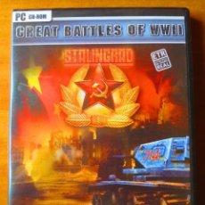 Videojuegos y Consolas: GREAT BATTLES OF WORLD WAR II: STALINGRAD (PC PRECINTADO). Lote 156981822