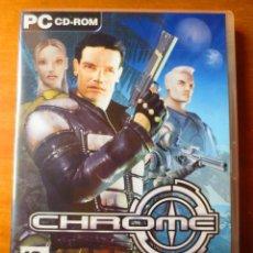 Videojuegos y Consolas: CHROME (TECHLAND) (PC). Lote 156983046