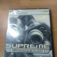Videojuegos y Consolas: SUPREME COMMANDER - PC - NUEVO PRECINTADO NEW. Lote 157045442