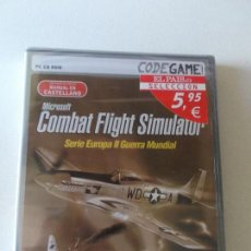 Videojuegos y Consolas: COMBAT FLIGHT SIMULATOR CASTELLANO, PC CD ROM, PRECINTADO MIRAR FOTOS. Lote 157229750