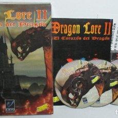 Videojuegos y Consolas: JUEGO PC, DRAGON LORE II, ERBE 1996, CASTELLANO, CAJA GRANDE CARTÓN. Lote 157294390