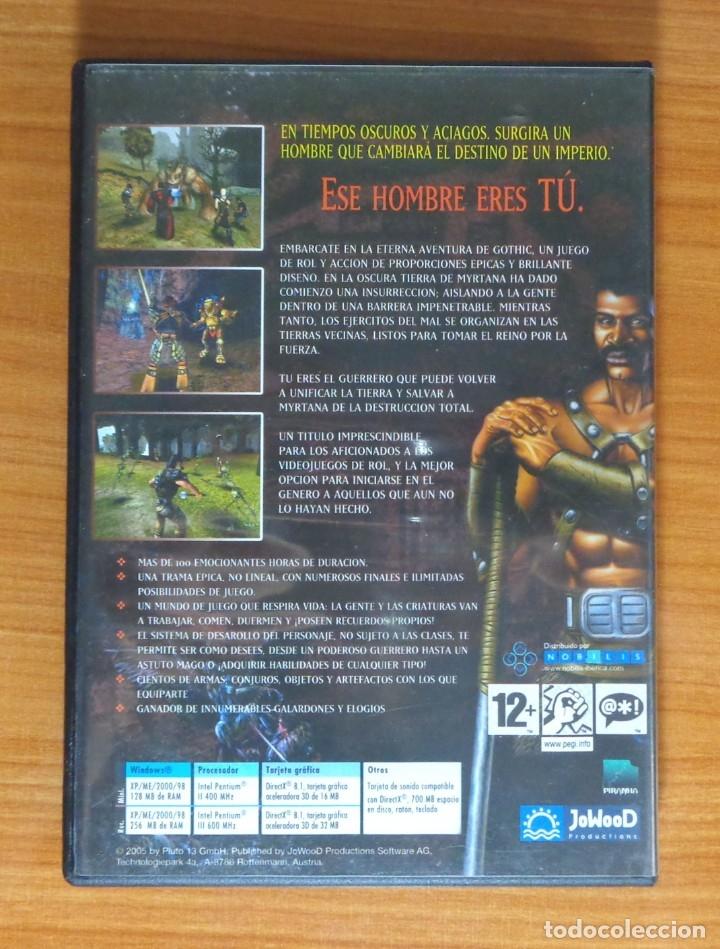 Videojuegos y Consolas: JUEGO PC GOTHIC. - Foto 2 - 51625188