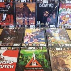 Videojuegos y Consolas: PC CD-ROM / LOTE DE 10 JUEGOS / EL PELICULÓN / TODOS PRECINTADOS / VER FOTOS PARA TÍTULOS.. Lote 157315938