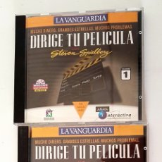 Videojuegos y Consolas: JUEGO PC: DIRIGE TÚ PELÍCULA CON STEVEN SPIELBERG. 1996. Lote 157346136