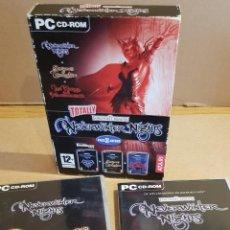 Videojuegos y Consolas: PACK 3 JUEGOS / NEVERWINTER NIGHTS / TOTALLY / PC CD-ROM / DE MUY BUENA CALIDAD.. Lote 157363678