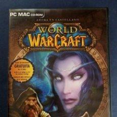 Videojuegos y Consolas: WORLD OF WARCRAFT - PC MAC CD-ROM. . Lote 157721978