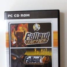 Videojuegos y Consolas: JUEGO PARA PC; FALLOUT 2 + FALLOUT TACTICS. Lote 157834802