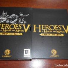 Videojuegos y Consolas: HEROES V OF MIGHT AND MAGIC V - GOLD EDITION. Lote 158912330