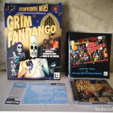 Videojuegos y Consolas: GRIM FANDANGO PC COMPLETO. Lote 158912506