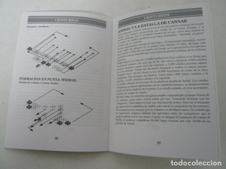 Videojuegos y Consolas: Centurion - Manual y juego en diskette / PC / Ms-dos / Juego PC en disquete - Foto 2 - 158913010