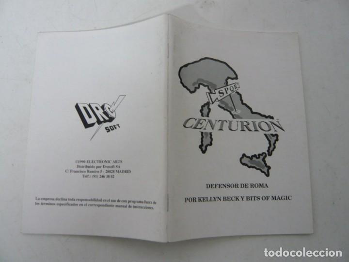 Videojuegos y Consolas: Centurion - Manual y juego en diskette / PC / Ms-dos / Juego PC en disquete - Foto 3 - 158913010