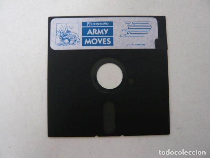 ARMY MOVES DE DINAMIC - JUEGO EN DISKETTE - BOOTER / PC / MS-DOS / JUEGO PC EN DISQUETE (Juguetes - Videojuegos y Consolas - PC)