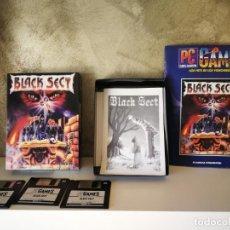 Videojuegos y Consolas: BLACK SECT PC CAJA GRANDE Y COMPLETO . Lote 158918018