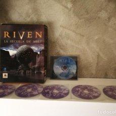 Videojuegos y Consolas: RIVEN Y MYST PC. Lote 254321440