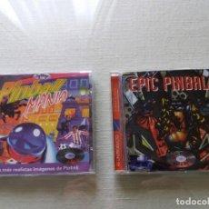 Videojuegos y Consolas: LOTE 2 JUEGOS PINBALL PARA PC. AÑOS 90.. Lote 159109354