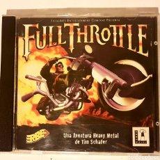 Videojuegos y Consolas: FULL THROTTLE. JUEGO PC. 1994. Lote 159303882