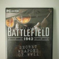 Videojuegos y Consolas: EXPANSION BATTLEFIELD 1942 SECRET WEAPONS PC PRECINTADO. Lote 159520798