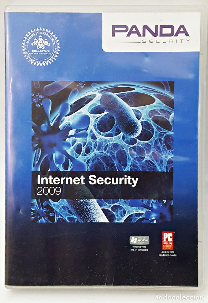 ANTIVIRUS PANDA INTERNET SEGURITY 2009 (Juguetes - Videojuegos y Consolas - PC)